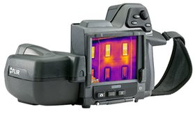Thermography survey camera
