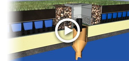 Blue Roof Sustainable Drainage Systems Bauder Induced Info